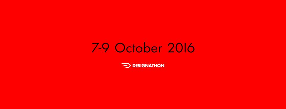 Designathon 2016 | Learn. Connect. Create. | 7 – 9 Οκτωβρίου