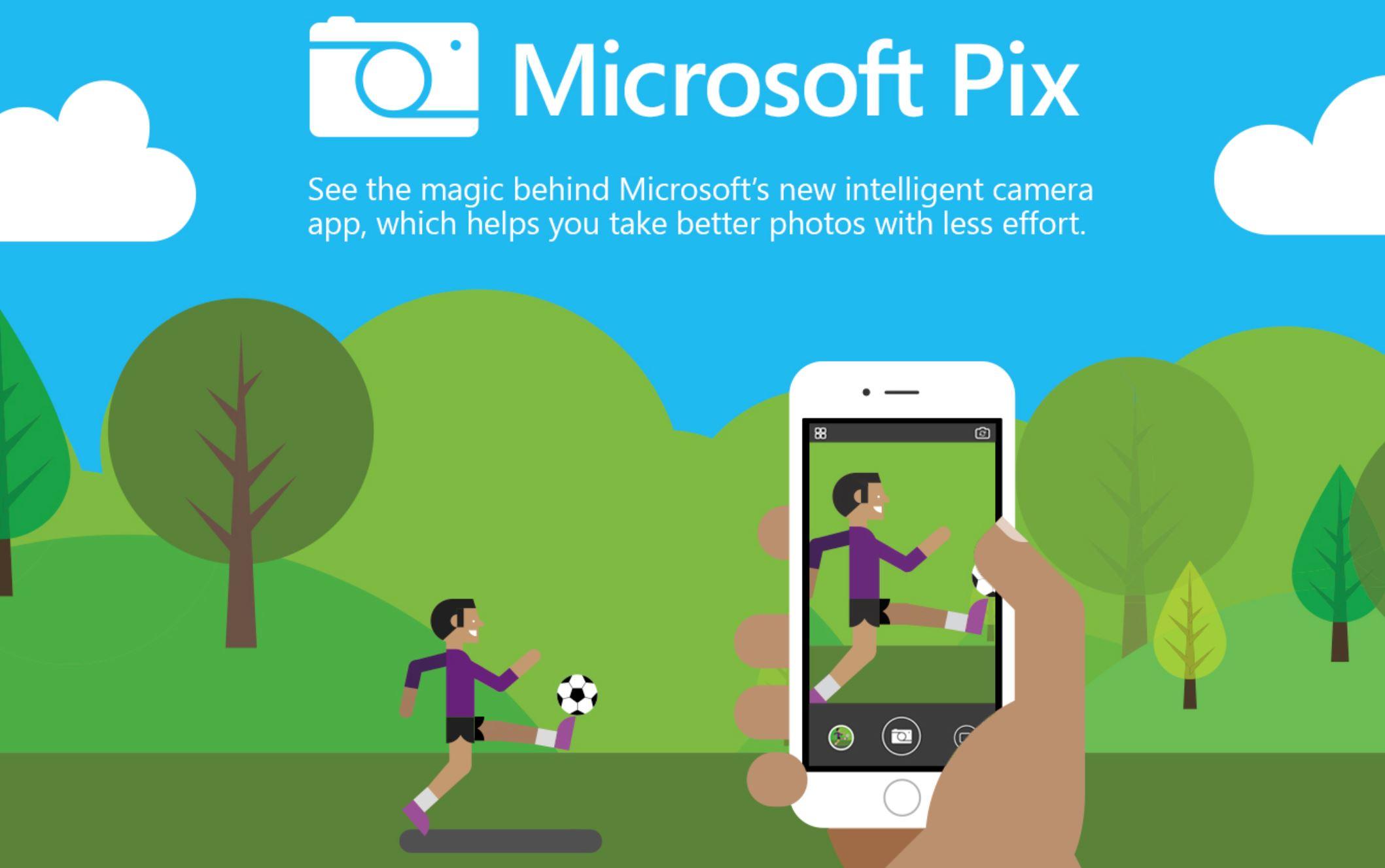 Microsoft Pix: Η εφαρμογή που βελτιώνει κάθε φωτογραφία αυτόματα