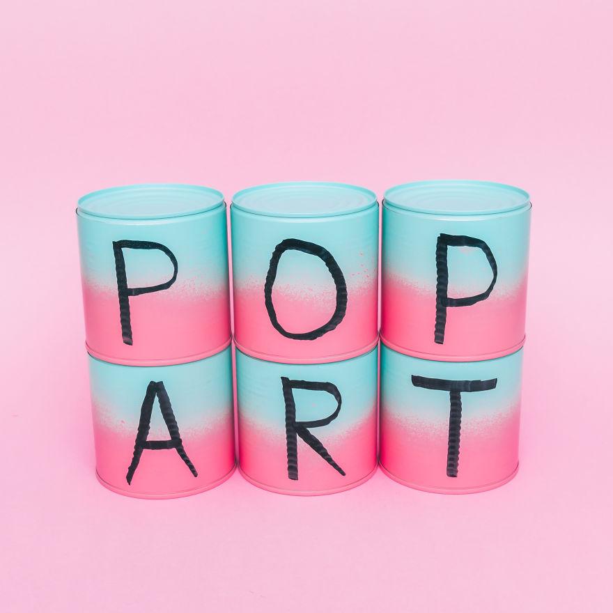 Pop-art φωτογραφίες εμπνευσμένες από την εποχή του Andy Warhol