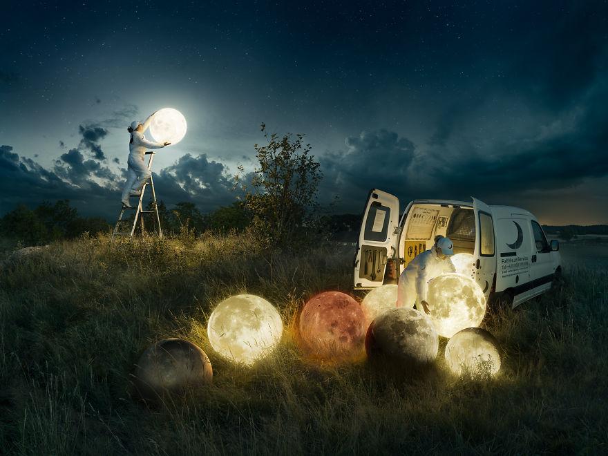 Full Moon Service: Φωτογραφία και Photoshop δημιουργούν κάτι μοναδικό