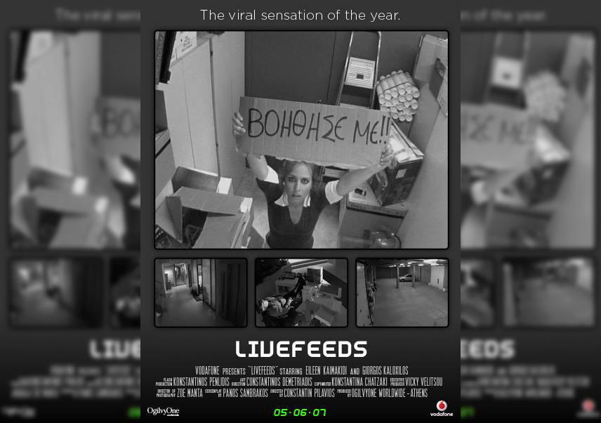 "Vodafone ""Livefeeds"": Η καμπάνια της OgilvyOne που έκλεισε 10 χρόνια"