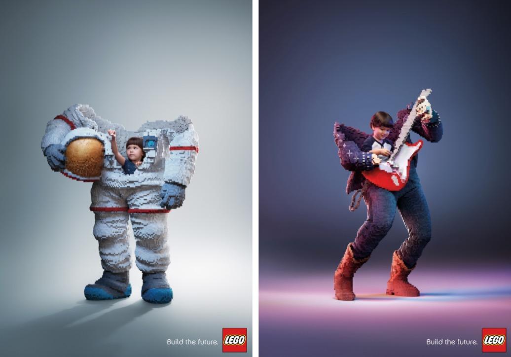 Build the Future: Η νέα και βραβευμένη καμπάνια της LEGO