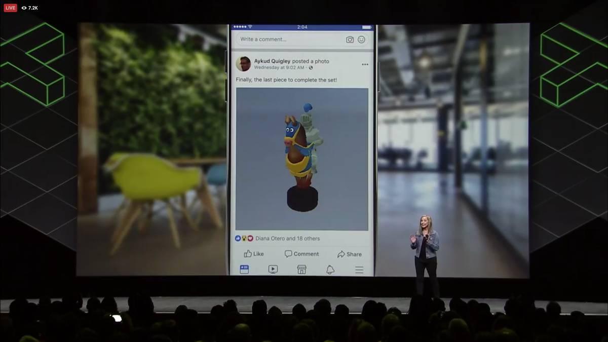 Facebook 3D posts | Το 3D έρχεται στον τοίχο μας και δεν περιμένει το VR