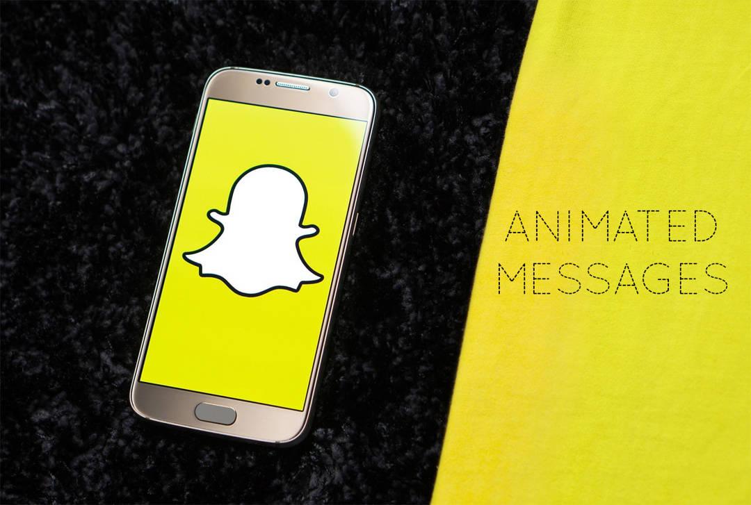Κινούμενα μηνύματα: Μια νέα δυνατότητα διαφήμισης στο Snapchat