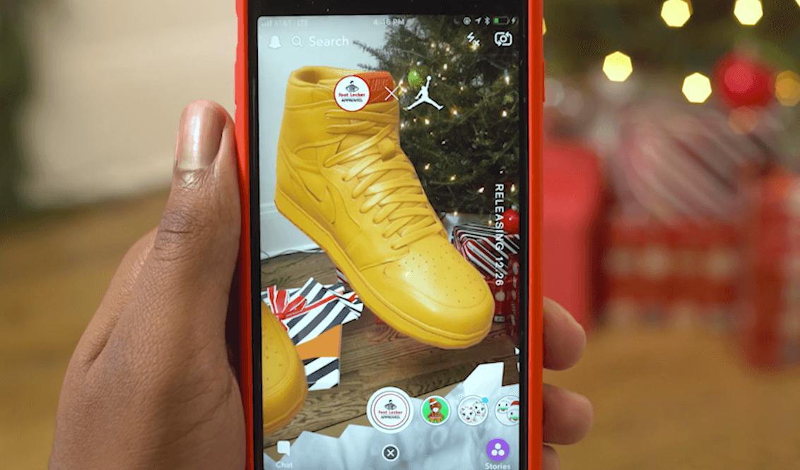 AR, Snapchat, Unboxing. Όλα μαζί σε μια εμπειρία από τη Foot Locker
