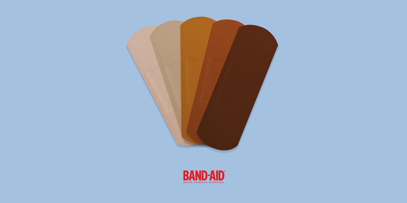 Η Band-Aid διαθέτει πλέον παραπάνω χρώματα στους επιδέσμους
